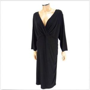 RALPH LAUREN Sheath Dress Black Sexy PLUS SIZE 22W